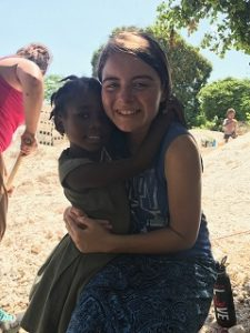 Hugs in Haiti