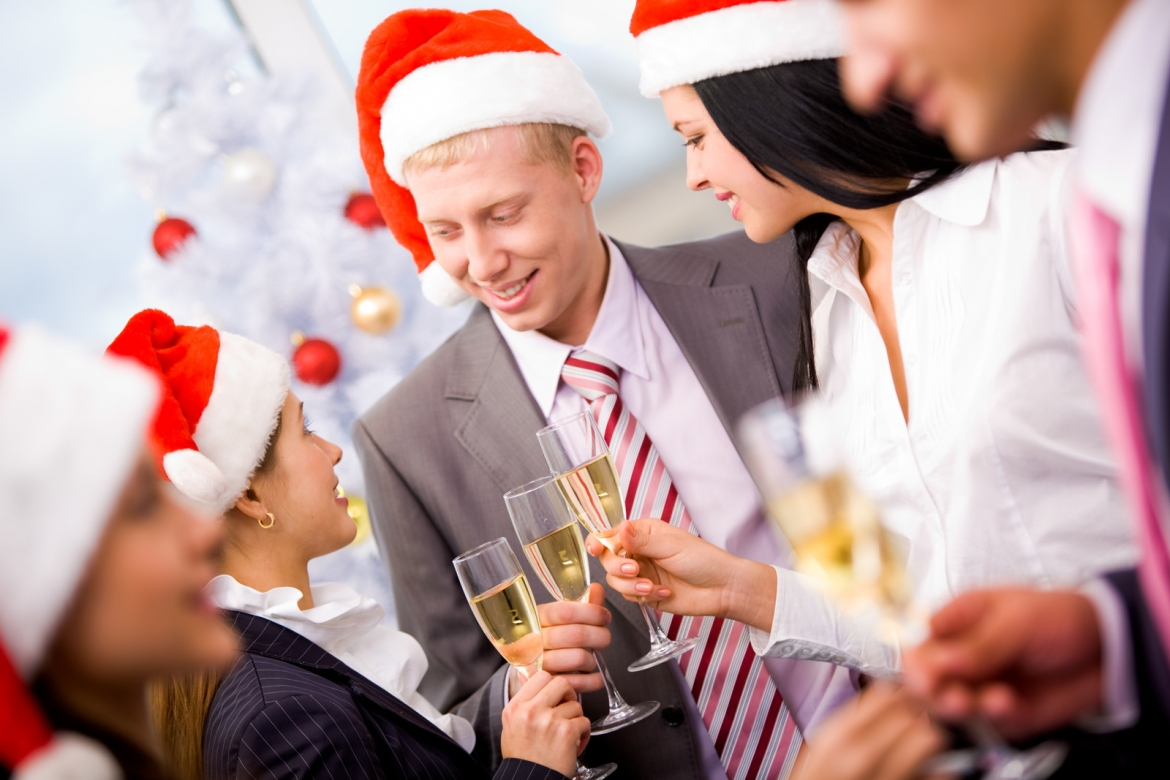 plan your company holiday party with careespecially if it includes liquor