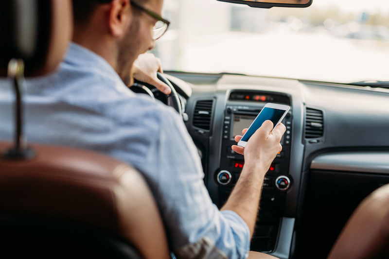 Distracted Driving Boosts Insurance Rates