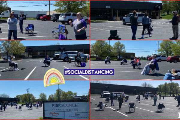 Collage_Social Distancing Lunch